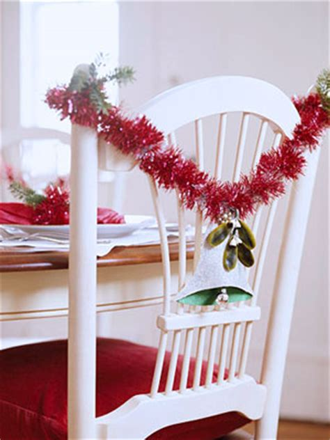 christmas chair decorating ideas shelterness