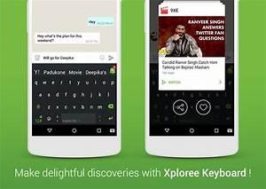 Xploree - New and Smart Xploree Keyboard Features