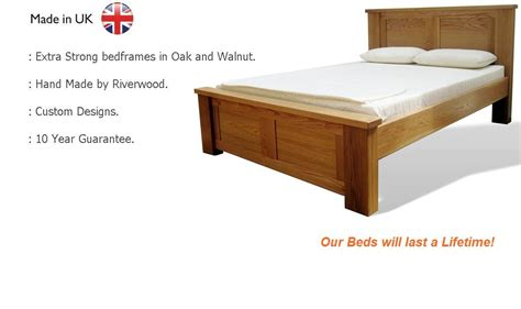 riverwood bedmakers hand  strong wooden beds