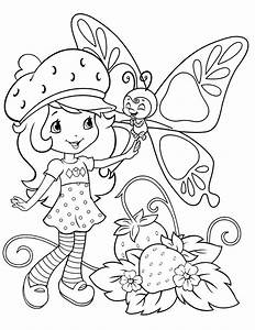 Strawberry Shortcake Coloring Pages Getcoloringpagescom