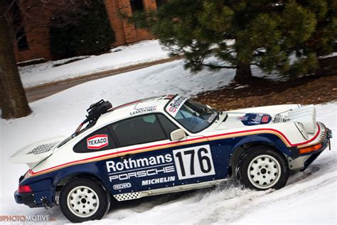 rothmans porsche rally ebay find of the day 1989 porsche 911 rothmans rally car