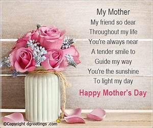 Mother's Day Wishes, Mother's Day Messages & SMS | Dgreetings