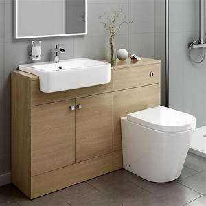 Toilet And Sink Combo Combined Basin Vanitynits Ebay