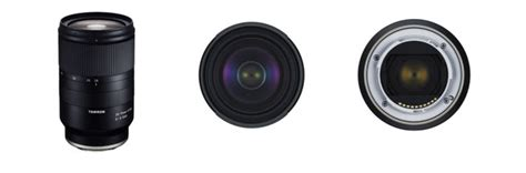 tamron announces the 28 75mm f 2 8 di iii rxd lens for sony e mount an affordable alternative