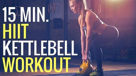 hiit workout kettlebell minute fat burning