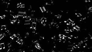 Musical Notes Background Stock Footage Video | Shutterstock