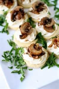 Mushroom Tarts Appetizer