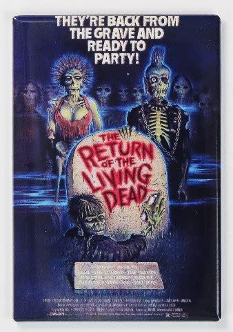 return   living dead  poster fridge magnet