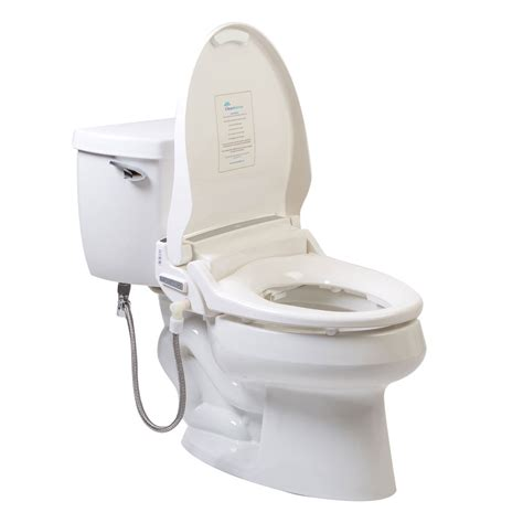 On Bidet by Clean Sense 1500r Remote Bidet Seat Clear Water Bidets