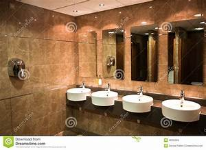 Modern public toilet stock photo. Image of health, indoor ...