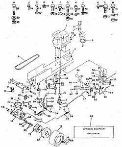 Craftsman Model 917254622 Lawn  Tractor Genuine Parts