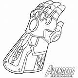 Thanos Coloring Infinity Pages Avengers Endgame Gauntlet War Iron Marvel Activity Calendar Captain sketch template