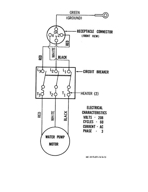 Well Wiring Diagram by Gallery Of Goulds Submersible Wiring Diagram