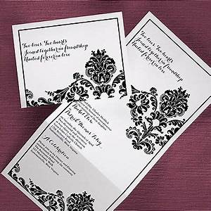 1000 images about z fold wedding invitations on With z fold wedding invitation template