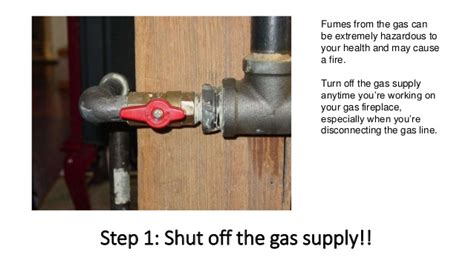 how to turn on a gas fireplace how to install gas fireplace logs