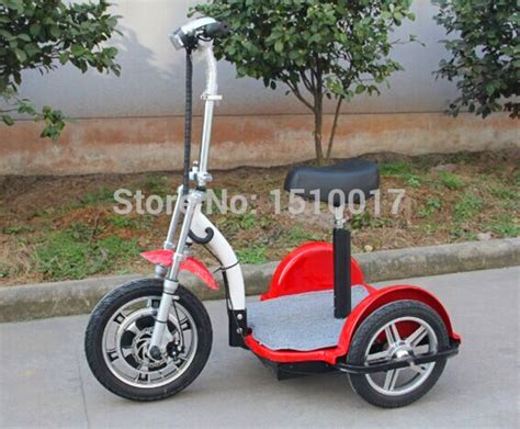 Powerful Bigger Rear Wheel 3 Wheels Electric Scooter Adult