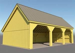 24x36 pole barn farm equipment storage shed With 24x36 pole barn