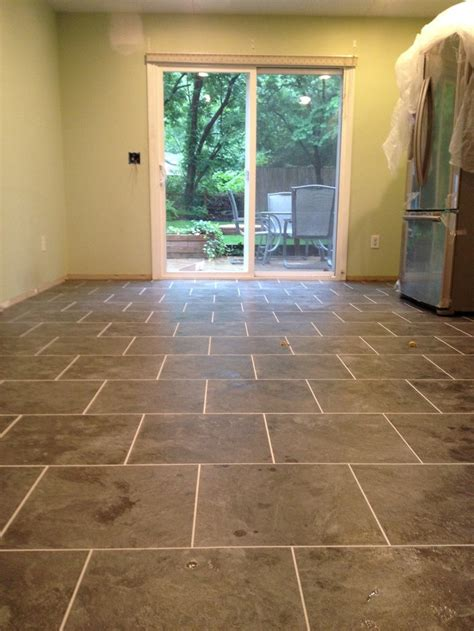 armstrong flooring grout armstrong mesa stone in charcoal with mist grout kitchen ideas pinterest mesas grout and