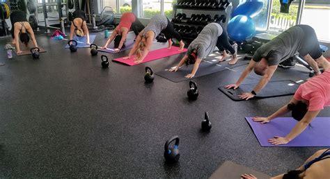 kettlebell yoga flow class