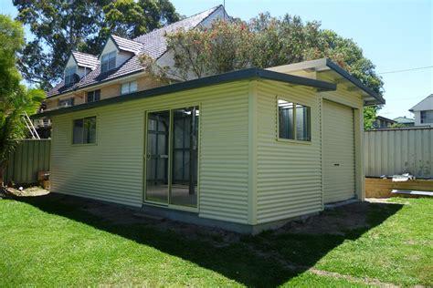 Skillion roof sheds and garages - Ranbuild