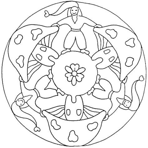 Spirituele Kleurplaten by The Magic Factory Mandala Kleurplaten Voor Kinderen