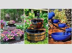 18 Outdoor Fountain Ideas How To Make a Garden Fountain
