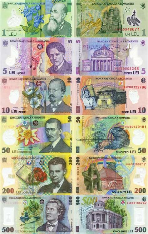 romania currency design money notes coin art