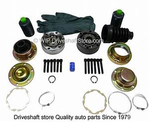 Jeep Liberty Front Driveshaft Complete Cv Repair Kit 2002