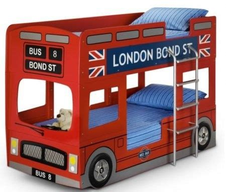 julian bowen london bus bunk bed kid beds single bunk