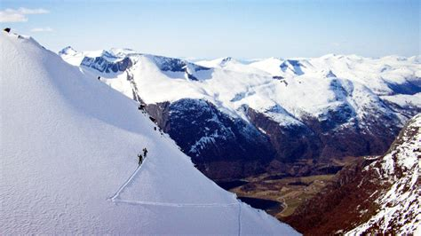 Skiing Down Spines Of The Worlds Hardest Terrain