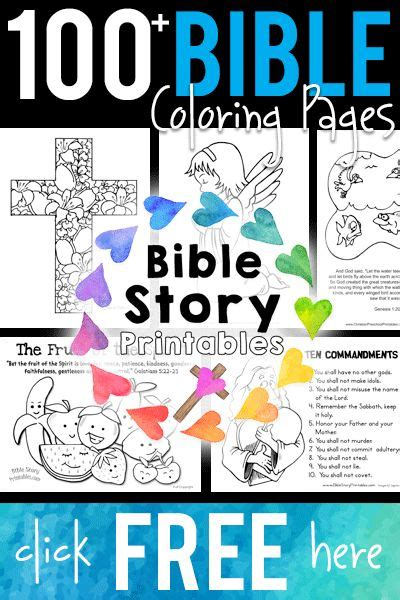 100 free printable bible coloring pages homeschool 794 | 100Biblepages