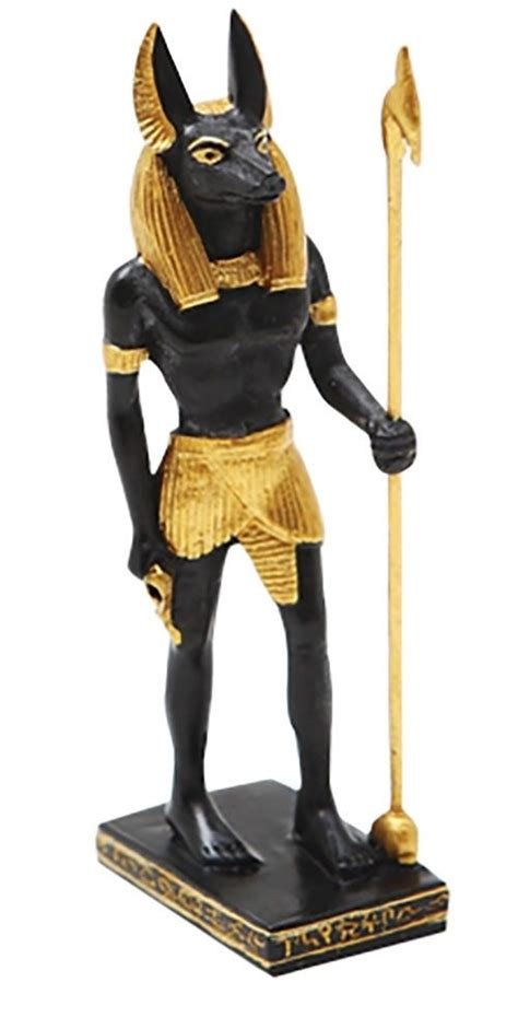 Anubis Statue Shop Collectibles Daily Ancient Miniature Doll House Small Figurine