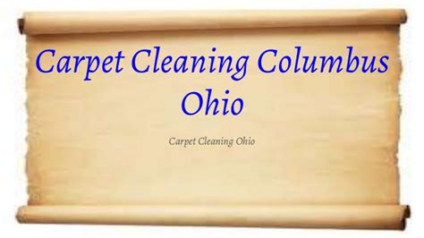 Upholstery Cleaning Columbus Ohio by Carpet Cleaning Columbus Ohio