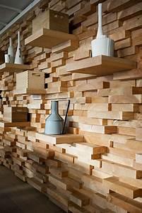 Wandverkleidung Aus Holz : wandverkleidung aus holz 95 fantastische design ideen ~ Buech-reservation.com Haus und Dekorationen