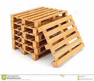 Palette Bois Gratuite : pile de palettes en bois illustration stock image 40425165 ~ Melissatoandfro.com Idées de Décoration