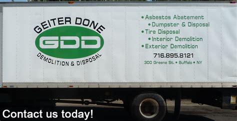 geiter  demolition disposal