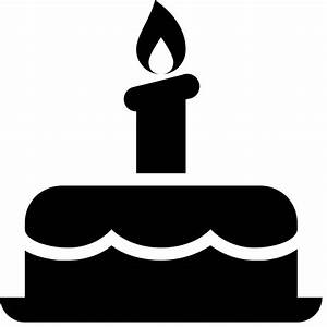 Birthday Cake Icon - Free PNG and SVG Download