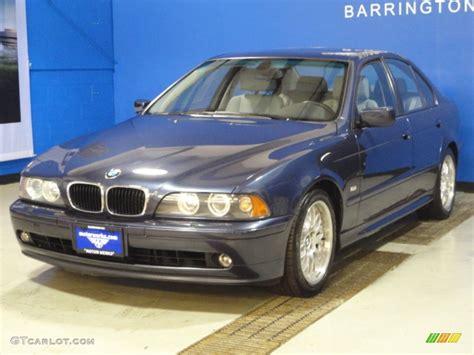 2002 Toledo Blue Metallic Bmw 5 Series 530i Sedan