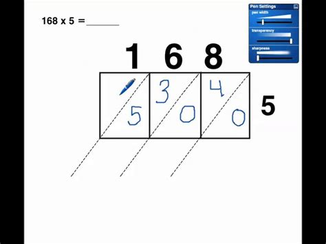 single digit vertical multiplication without regrouping lattice multiplication 1 digit x 3 digit no regrouping