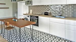 Revêtement cuisine : sol, murs, crédence, carrelage, béton