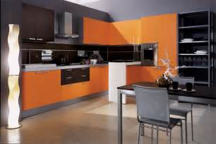 contemporary kitchen furniture modern house luxury orange interior design kitchen