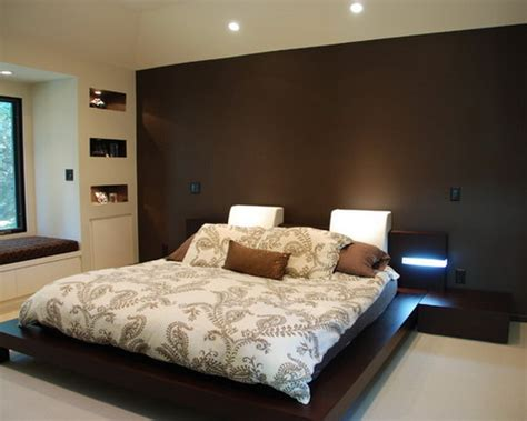 Bedroom Colors With Accent Wall by How To Decorate Your Bedroom With Brown Accent Wall Home