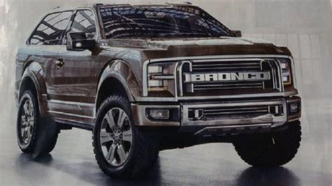 ford bronco diesel spy  interior  release