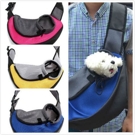 pet carrier carrying cat dog puppy small animal sling