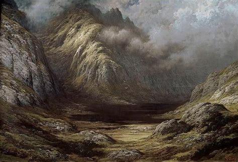 Lac En Écosse Après L'orage, 1875