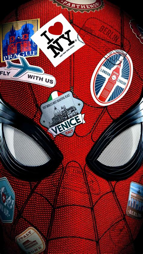 spiderman   home poster iphone wallpaper iphone