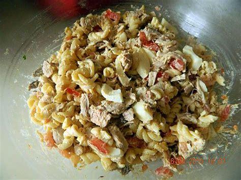 recette de salade de p 226 tes au poulet