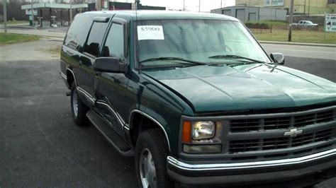 all car manuals free 1997 chevrolet tahoe electronic throttle control 1997 chevrolet suburban k1500 4x4 stock number 4578 repairable damaged salvage youtube