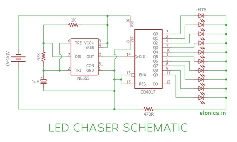 christmas light chaser circuit led chaser circuit diagram 26 wiring diagram images