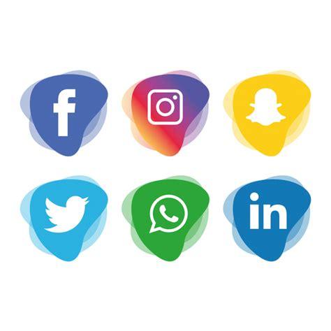 Social Media Icons Set, Social, Media, Icon Png And Vector